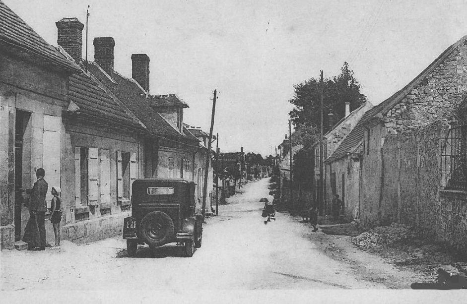 Album - le village de Saint-Sauveur (Oise), les rues