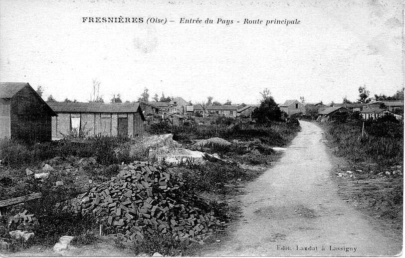 Album - le village de Fresnieres (Oise)