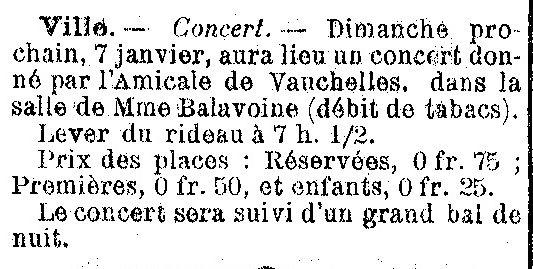 Album - le village de Ville (Oise), au fil des mois au cours des années 1800 et 1900