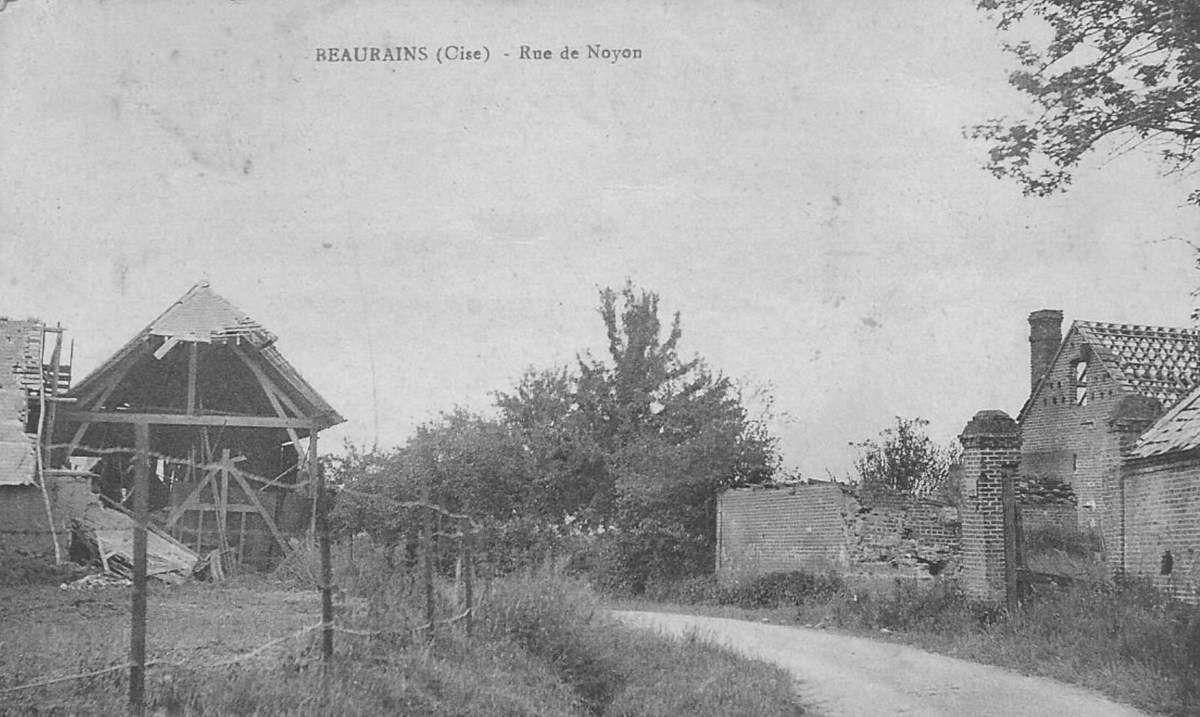 Album - le  village de Beaurains (Oise)
