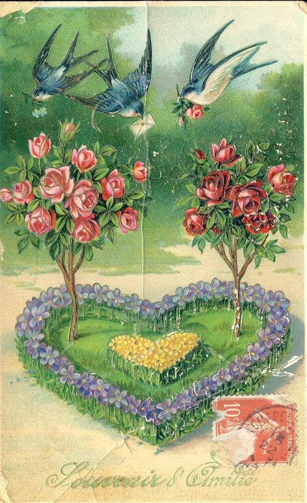 Album - p cartes postales du temps passé