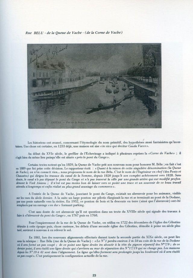 Album - la ville d'Amiens, les rues de la ville ( tome 1 )