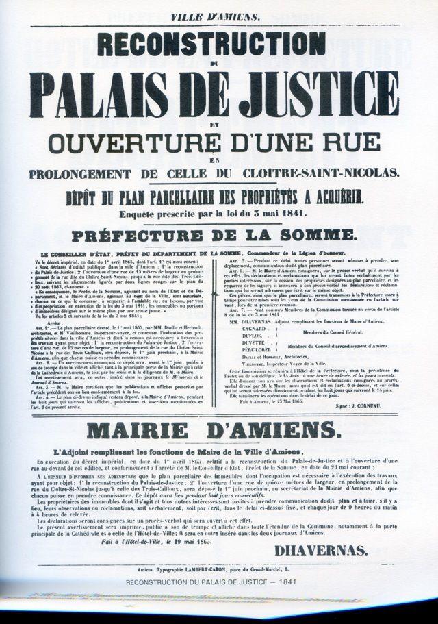 Album - la ville d'Amiens, trois siècles d'affiches