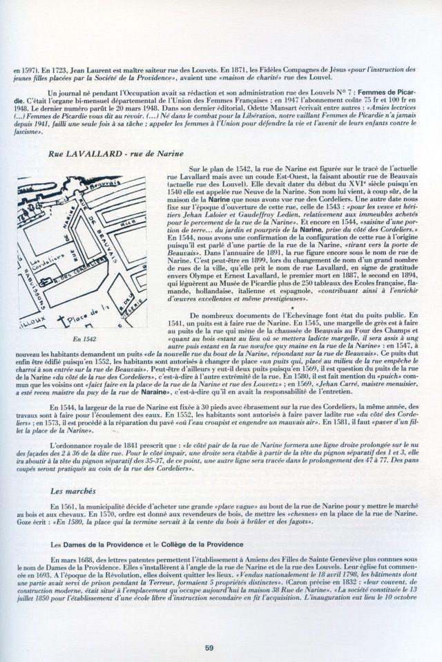 Album - la ville d'Amiens, les rues de la ville ( tome 7 )