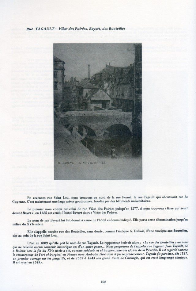 Album - la ville d'Amiens, les rues de la ville ( tome 2 )