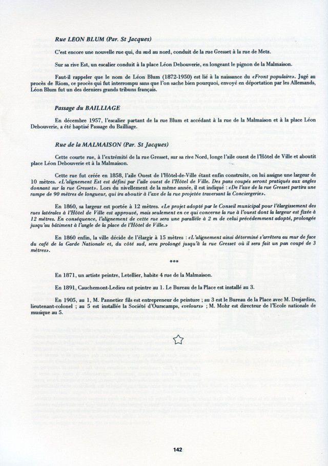 Album - la ville d'Amiens, les rues de la ville ( tome 4 )