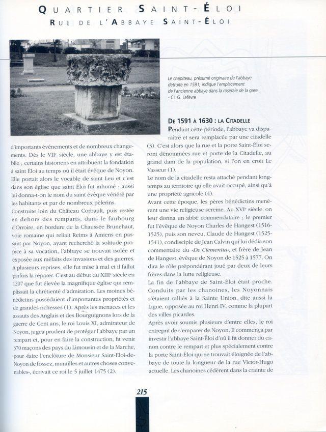 Album - la ville de Noyon, historique de ses rues ( suite 2 )