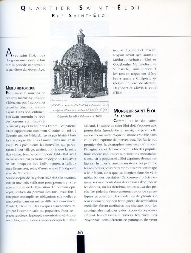 Album - la ville de Noyon, historique de ses rues ( suite 1 )