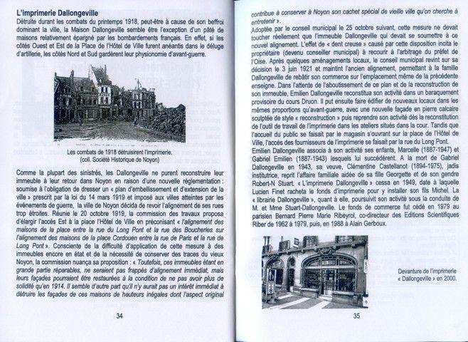 Album - la ville de Noyon ( Oise ), l'Histoire des imprimeurs de Noyon