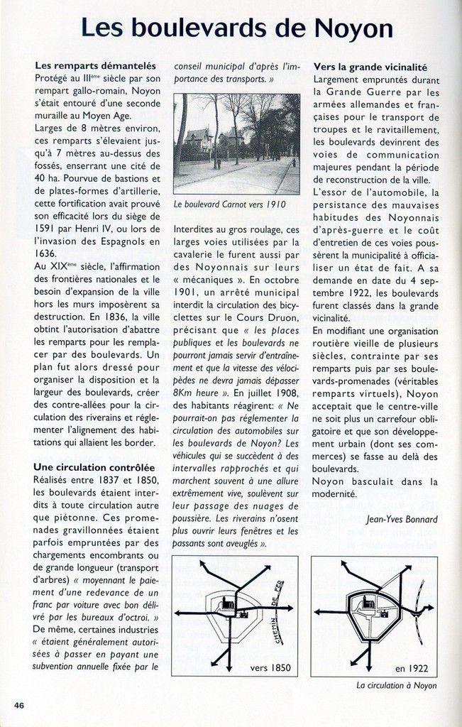 Album - la ville de Noyon ( Oise), 2000 ans d'Histoire