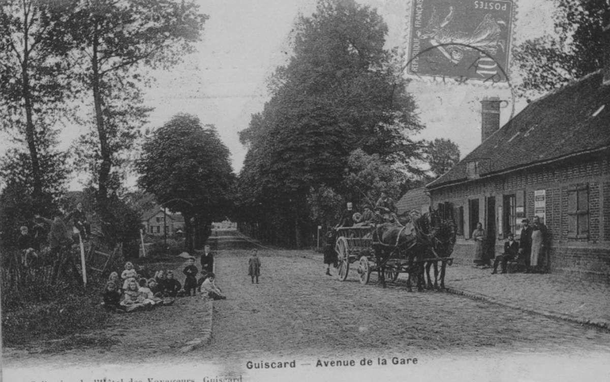 Album - le village de Guiscard (Oise), les rues