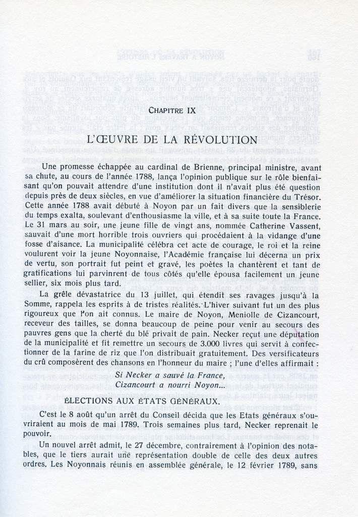 Album - la ville de Noyon ( Oise ), à travers l'Histoire, l'oeuvre de la révolution