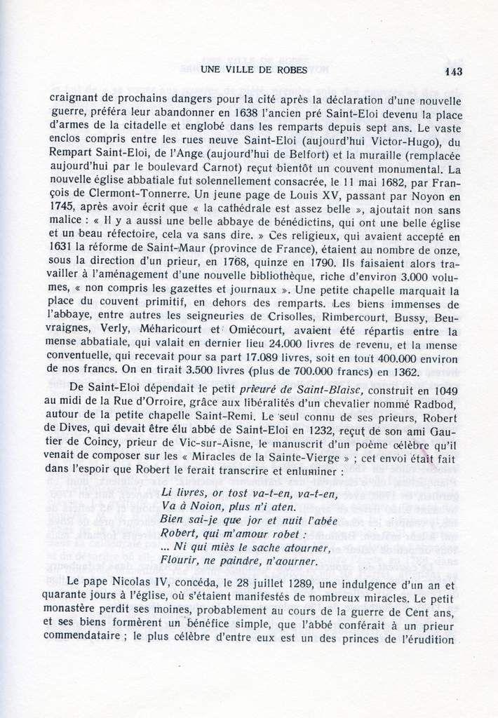 Album ( la ville de Noyon ( Oise ), à travers l'Histoire, de la guerre de trente ans à la guerre de 1914, une ville de robes