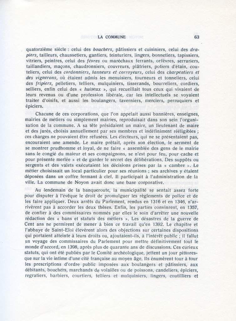 Album - la ville de Noyon ( Oise ), à travers l'Histoire, la Commune, la place forte