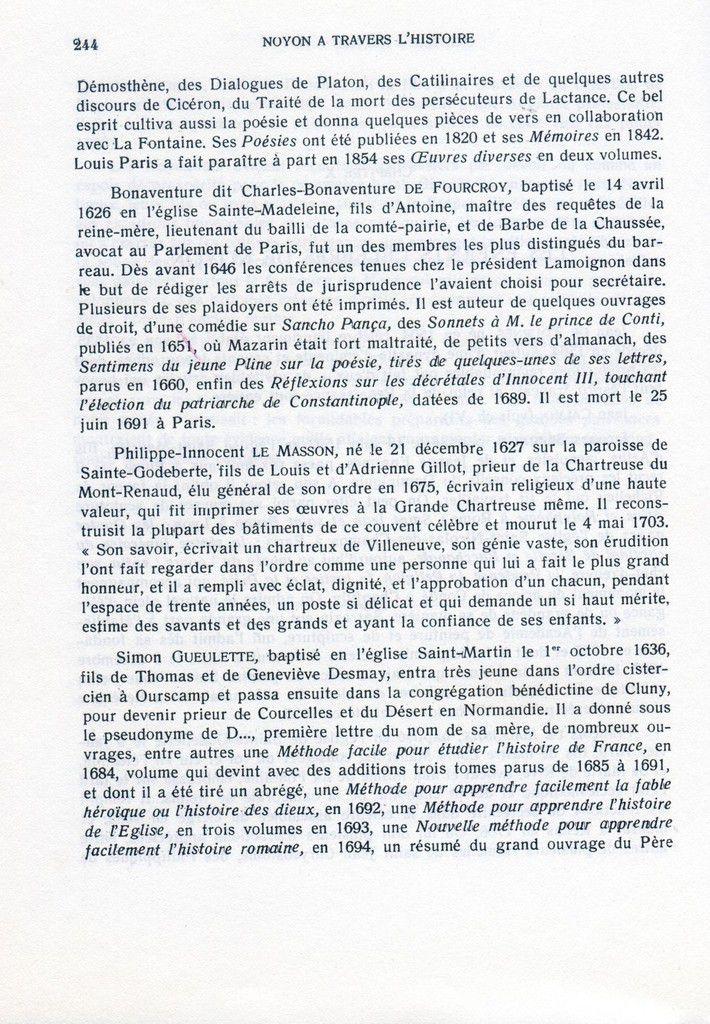 Album - la ville de Noyon ( Oise ), à travers l'Histoire, l'administration de la ville