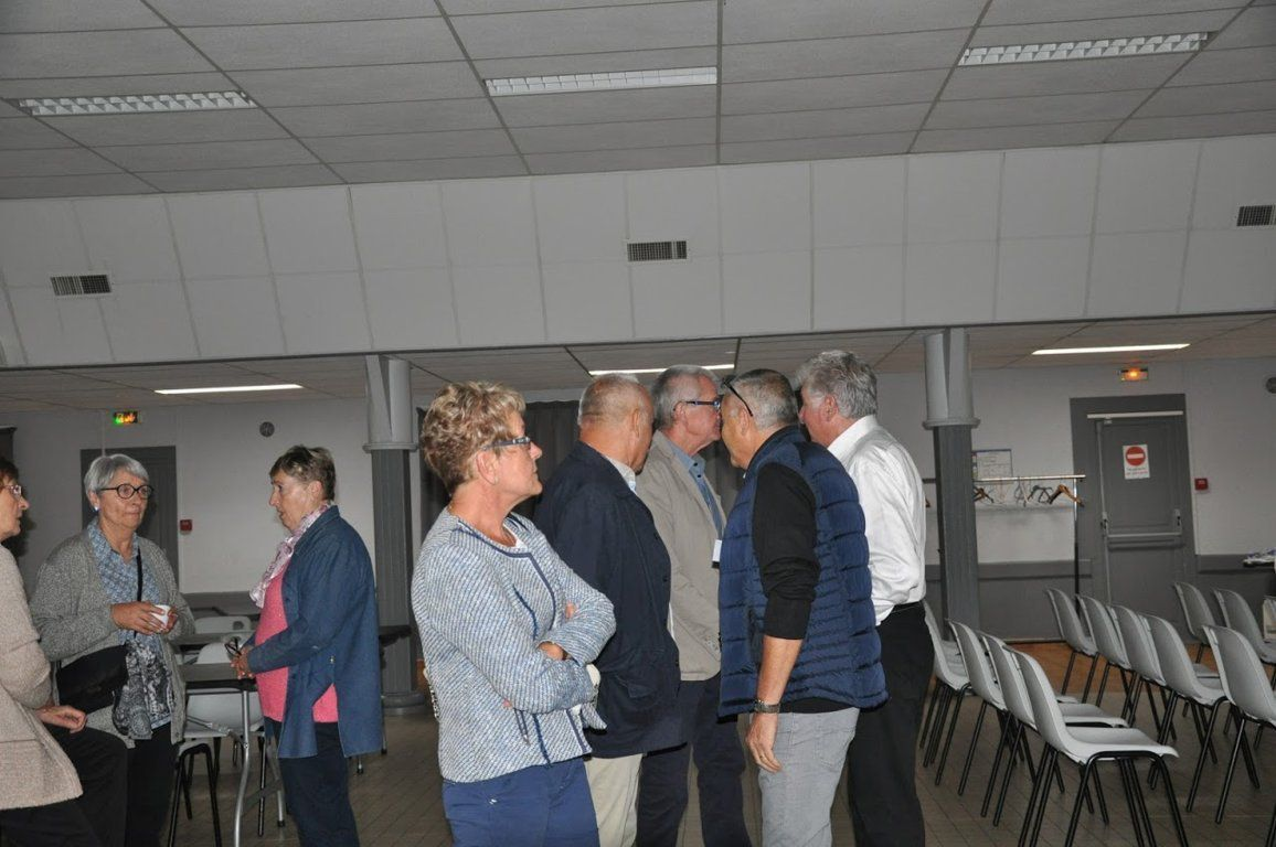 Album - centre progobain, réunion des anciens éléves le 14,15 et 16 septembre 2017 à Saint-Romain-le-Puy ( jour 1 )