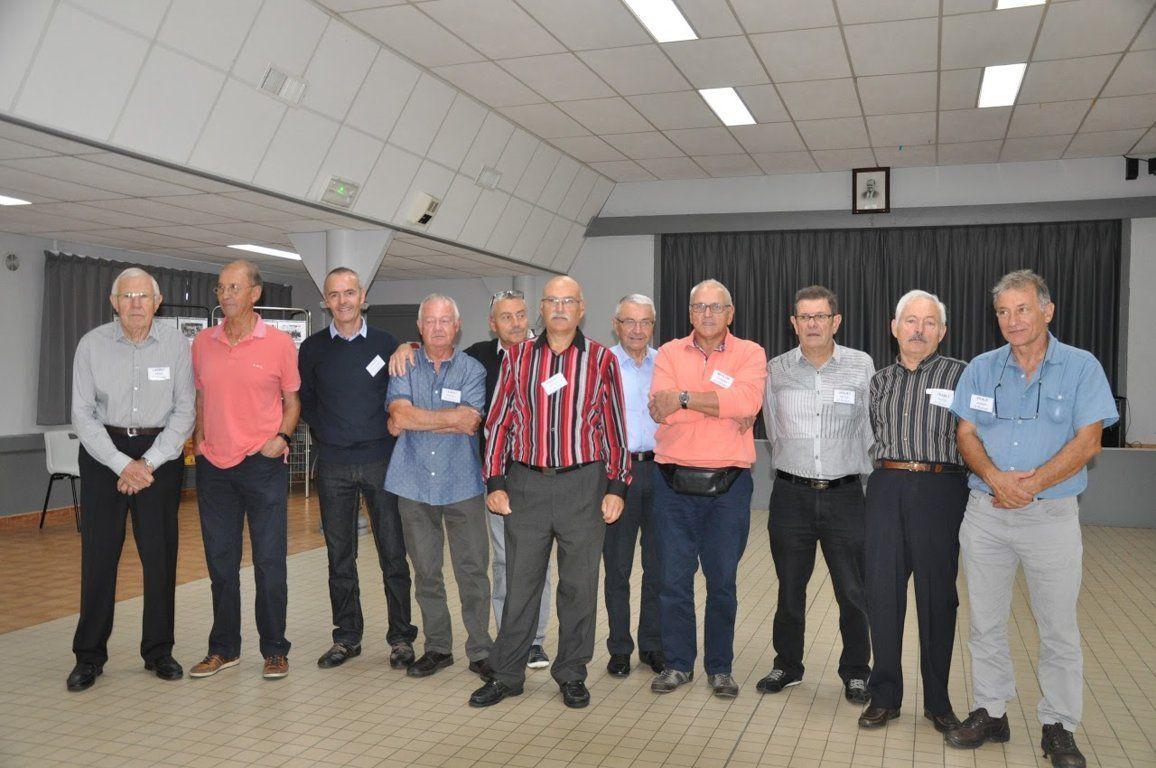 Album - centre progobain, réunion des anciens éléves le 14,15 et 16 septembre 2017 à Saint-Romain-le-Puy ( jour 1 suite )