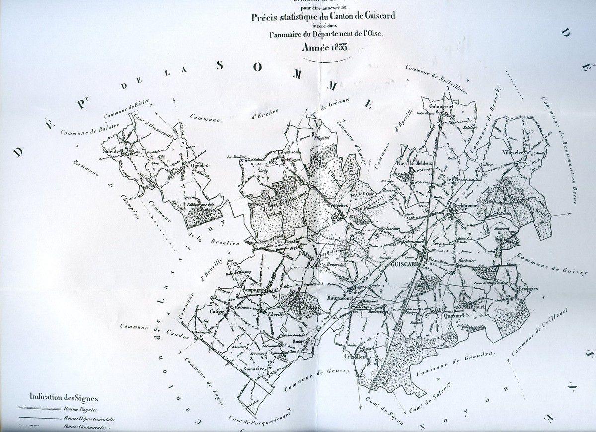 Album - le canton de Guiscard (Oise), 1ère partie