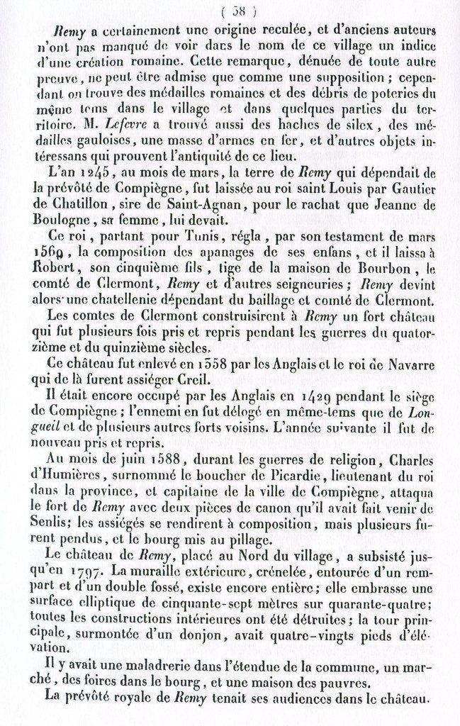 Album - le village de Rémy (Oise)