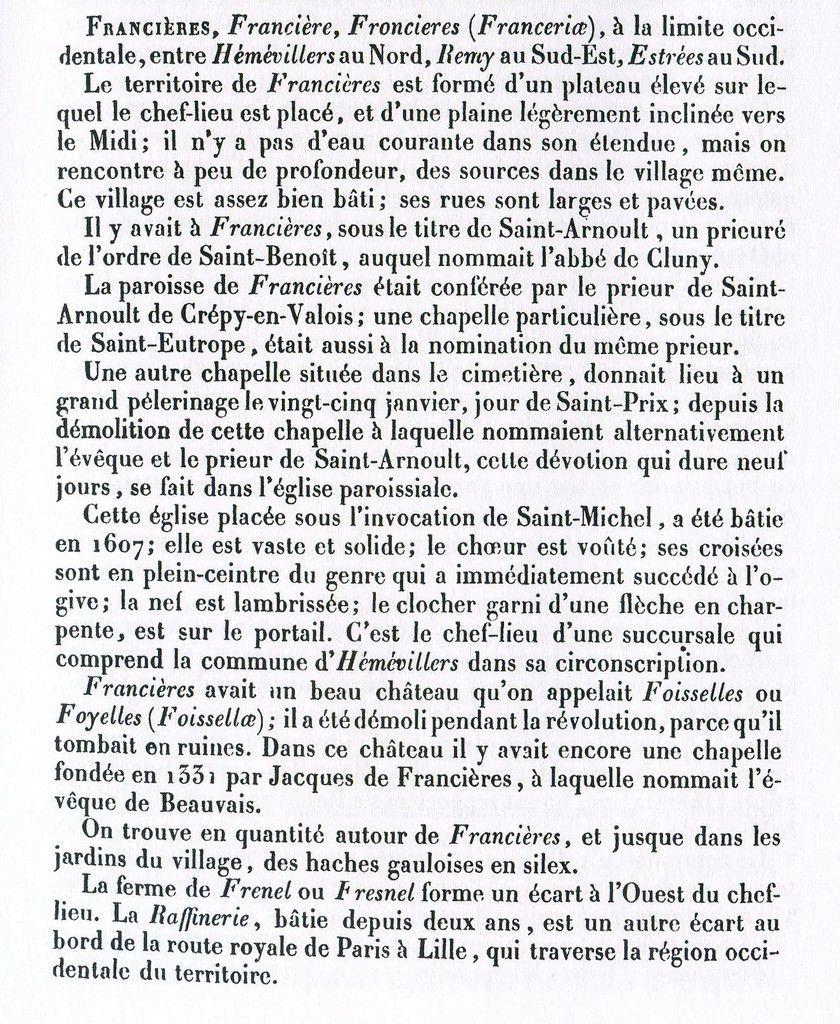 Album - le village de Francieres (Oise)