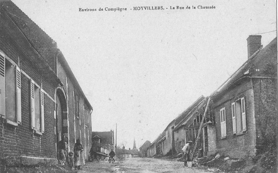 Album - le village de Moyvillers (Oise), son Histoire