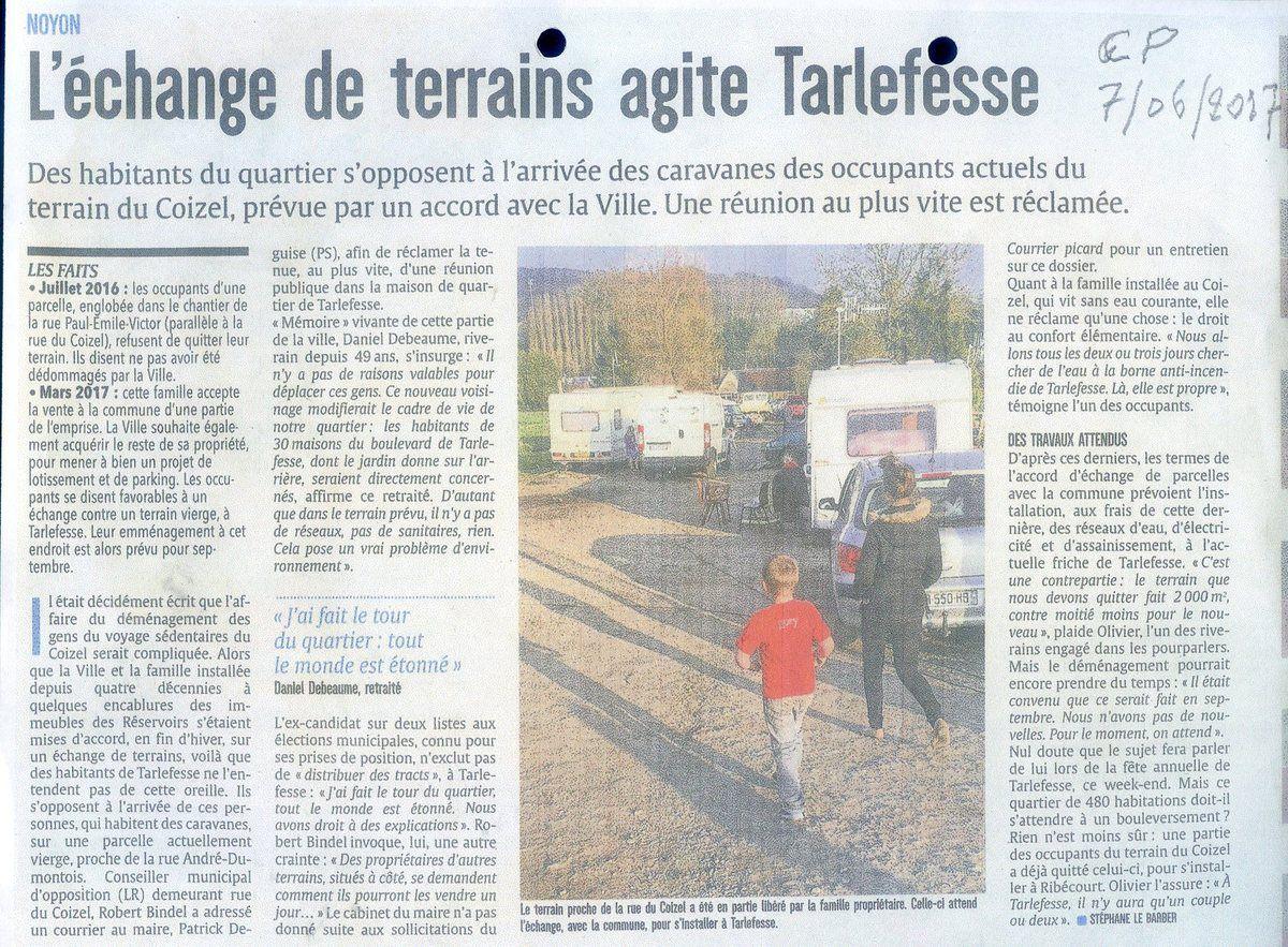 Album - le hameau de Tarlefesse en 2018, sa situation environnemental, mes démarches et revendications