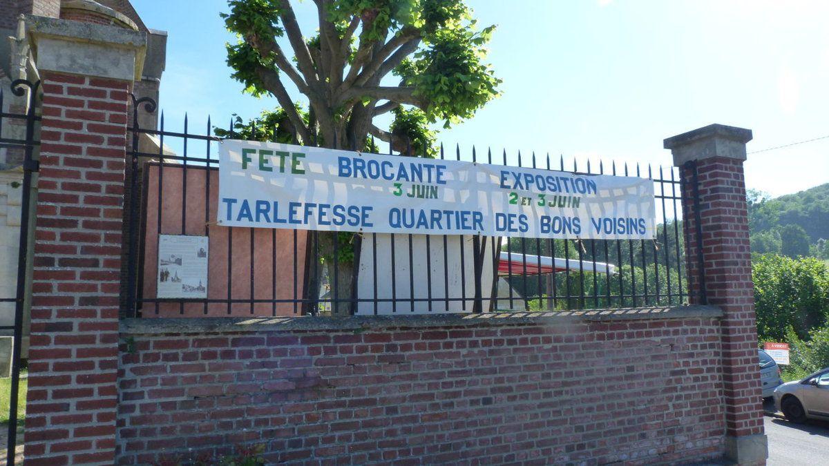 Album - le hameau de Tarlefesse, sa brocante le 2 et 3 juin 2018