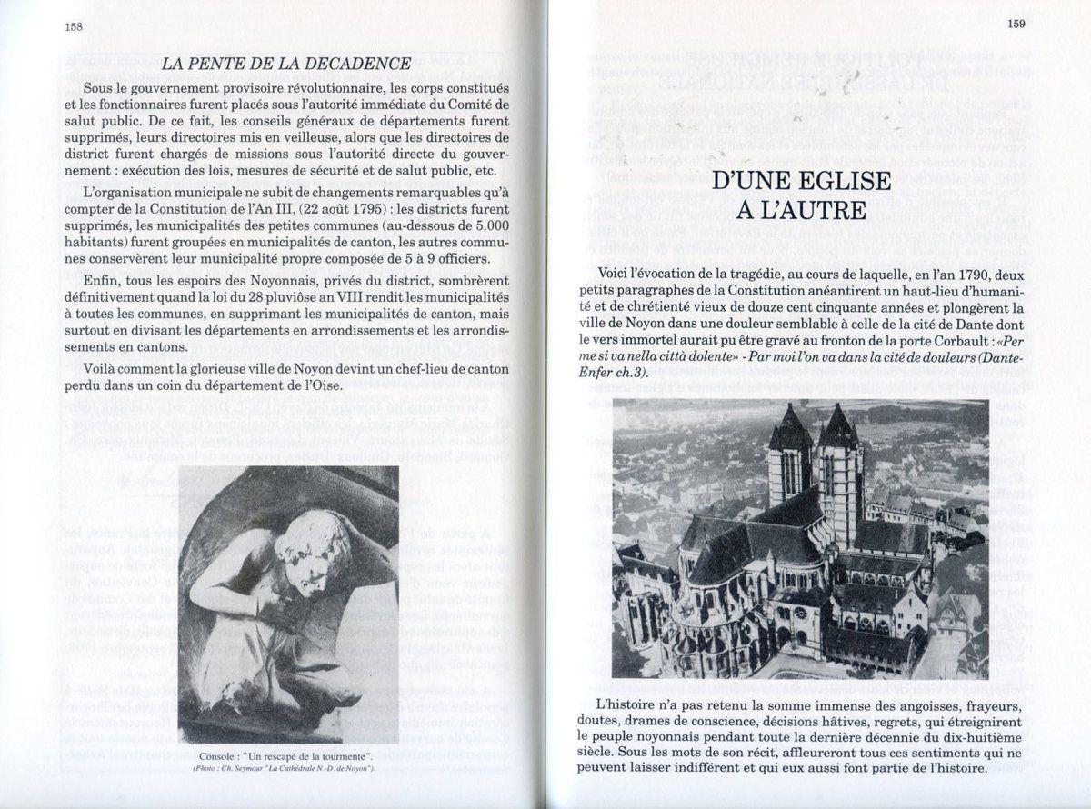 Album - la ville de Noyon (Oise), dans la tourmente révolutionnaire, les métamorphoses de Noyon ( 3ème partie)