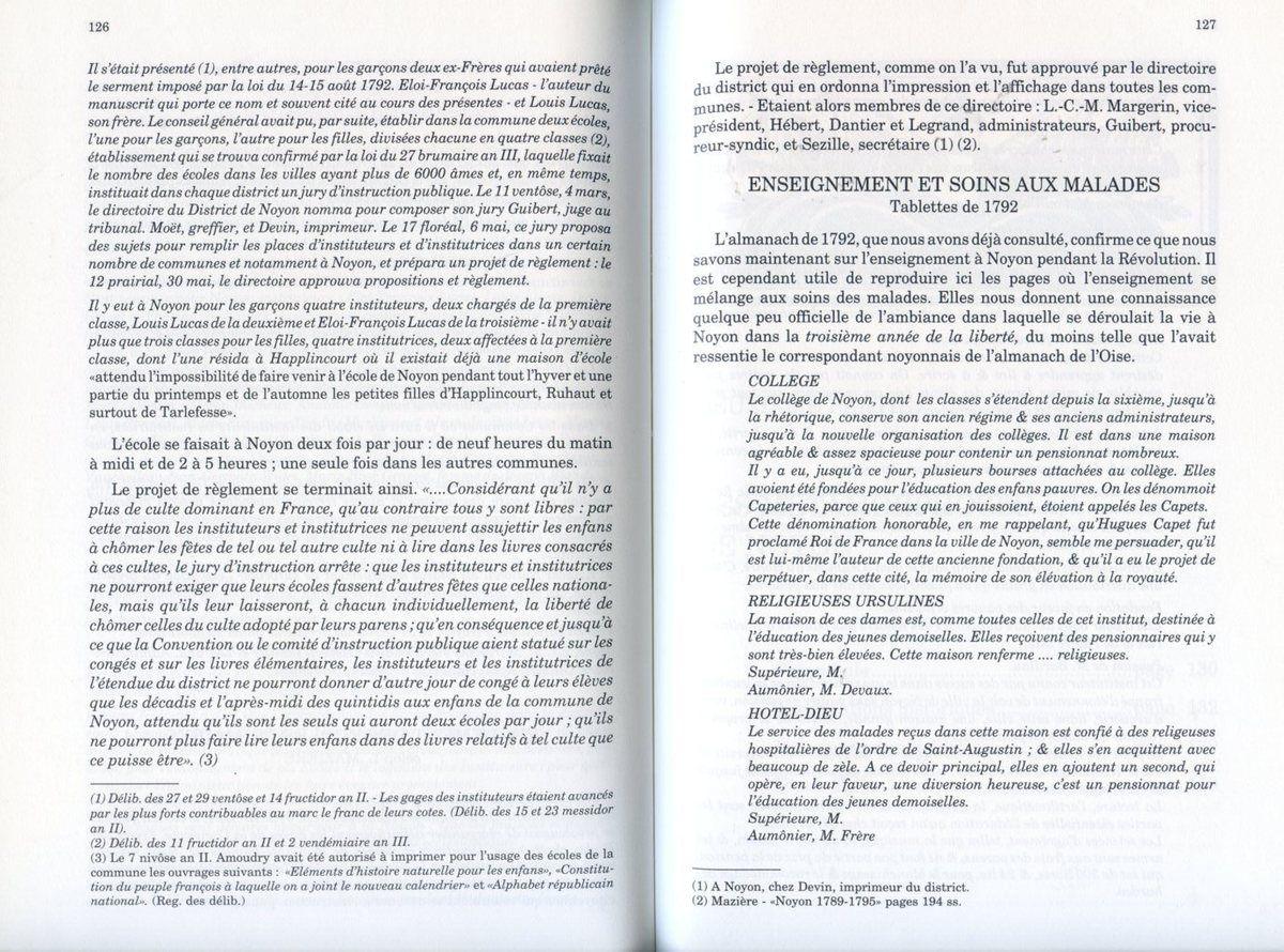 Album - la ville de Noyon (Oise), dans la tourmente révolutionnaire, les fonctions permanentes ( 2ème partie)