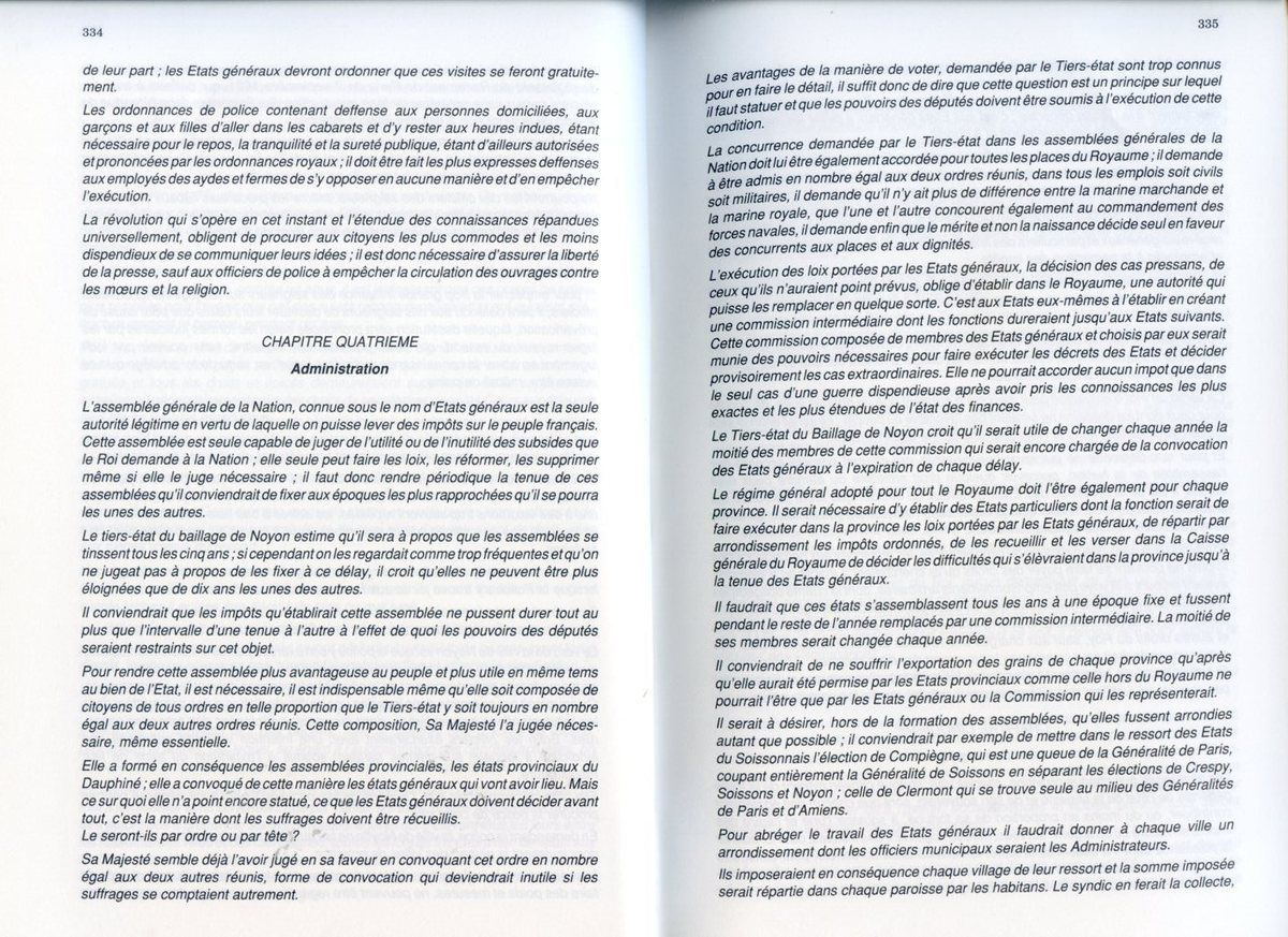 Album - la ville de Noyon (Oise), dans la tourmente révolutionnaire, les cahiers de doléances de la ville et des faubourgs