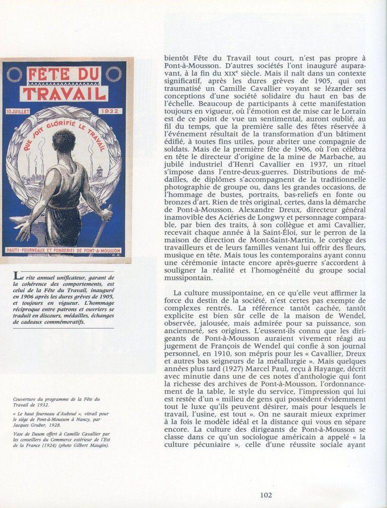 Album - groupe Saint-Gobain, du Soleil à la Terre, 1886-1939 stratégies et grandes manoeuvres en Lorraine ( chapitre V )