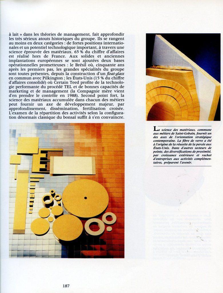 Album - groupe Saint-Gobain, du Soleil à la Terre, 1970-1988,Carmina Gobana ( chapitre VIII )