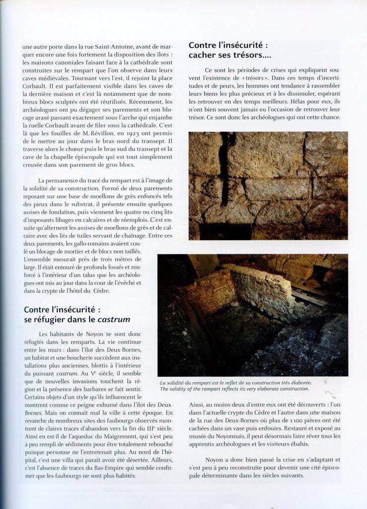 Album - la ville de Noyon (Oise), Racines et Avenir ( Roots and Future ), sa Chronologie ( chapite I )