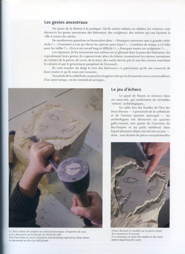 Album - la ville de Noyon (Oise), Racines et Avenir ( Roots and Future ), la politique culturelle ( chapitre V )