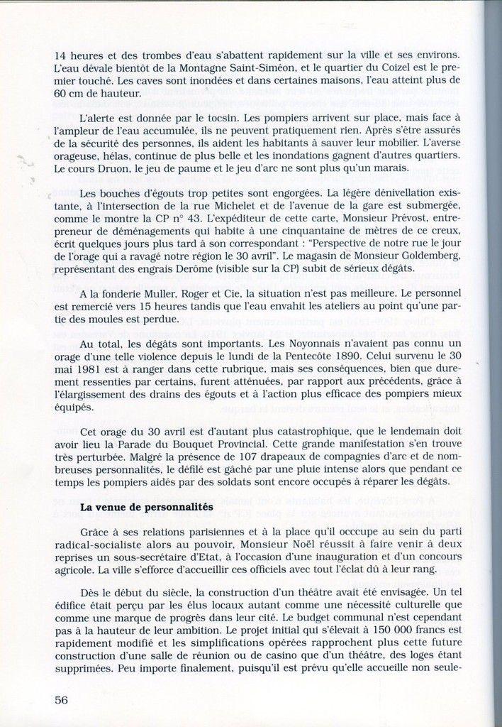 Album - la ville de Noyon (Oise), à la Belle Epoque, les sociabilités, ( chapitre II )