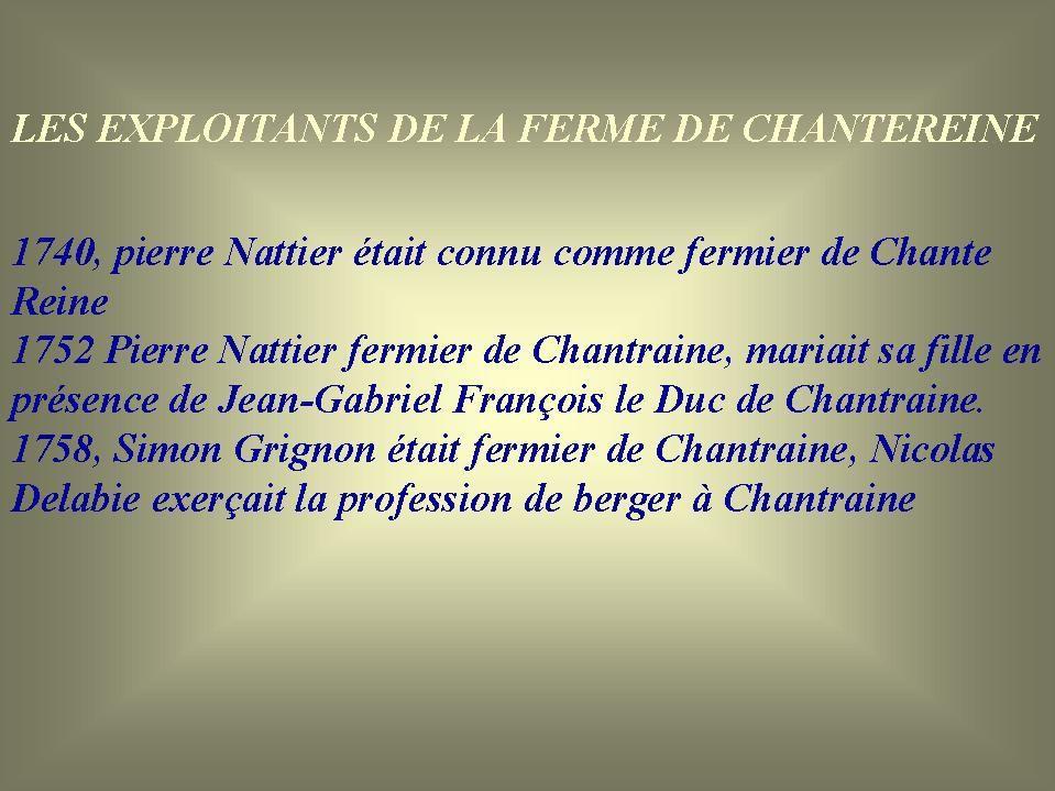 0, La Ferme de Chantereine