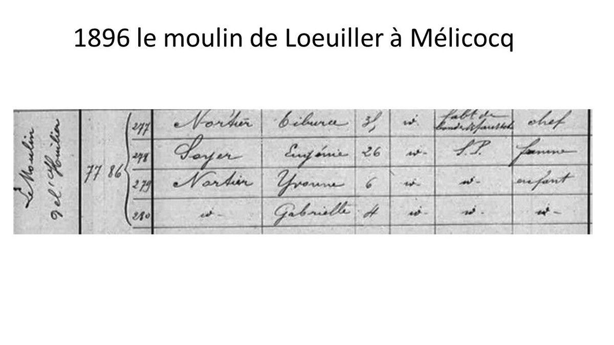 Album - le village de Mélicocq ( Oise ), le moulin de Loeuiller