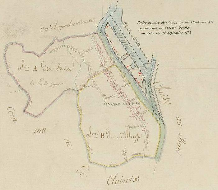 Album - le village de Janville ( Oise ), le recensement des habitants de 1820 à 1911