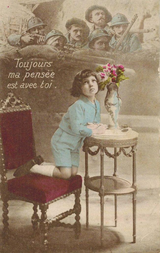 Album - p - cartes postales humoristiques pendant la guerre de 1914 - 1918