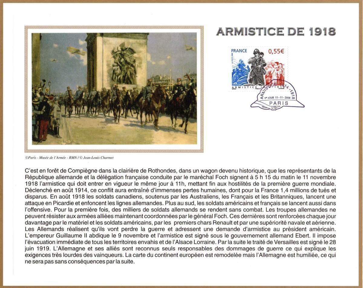 Album - le village de Rethondes, l'armistice au travers d'icones pour commémorer l'événement