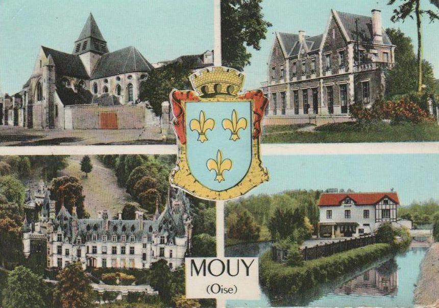 Album - la ville de Mouy (Oise), l'hotel de ville, la gare