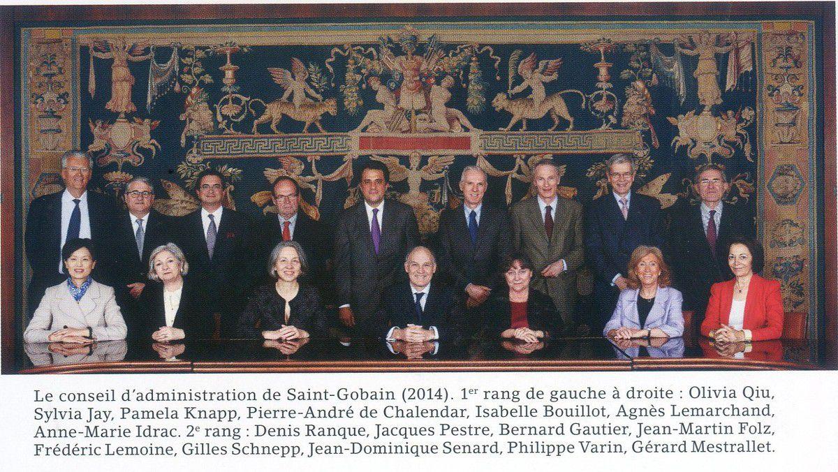 Album - groupe Saint-Gobain, son administration