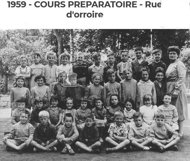 Album - la ville de Noyon (Oise), les élèves des écoles de 1930 à 1959