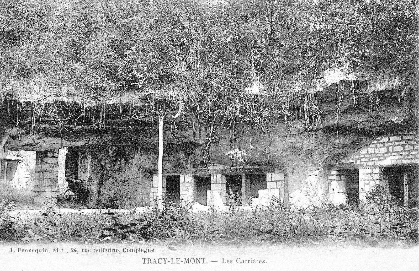 Album - le village de Tracy le Mont (Oise)