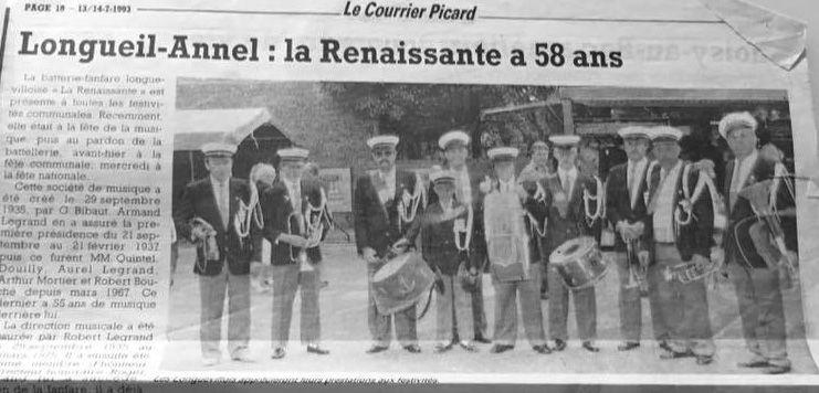 Album - le village de Longueil-Annel (Oise), la Vibrante et la Renaissante