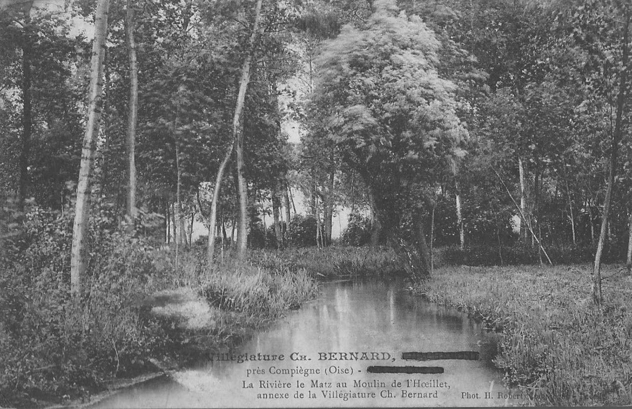 Album - le village de Machemont (Oise), le moulin, la maison Bernard