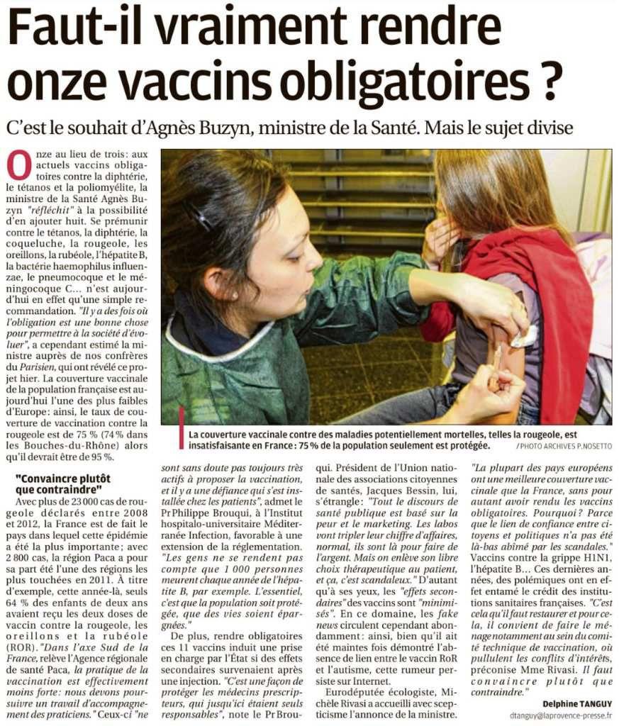 Quid des Vaccinations ?