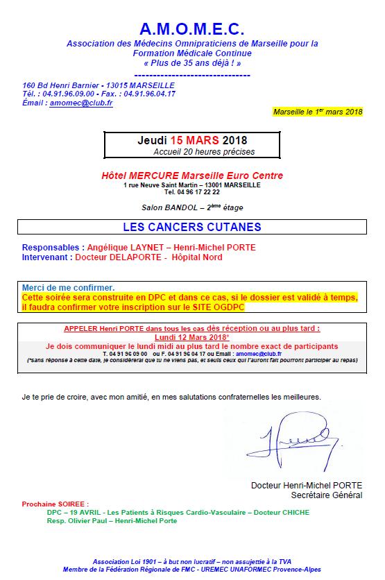 DPC - LES CANCERS CUTANES
