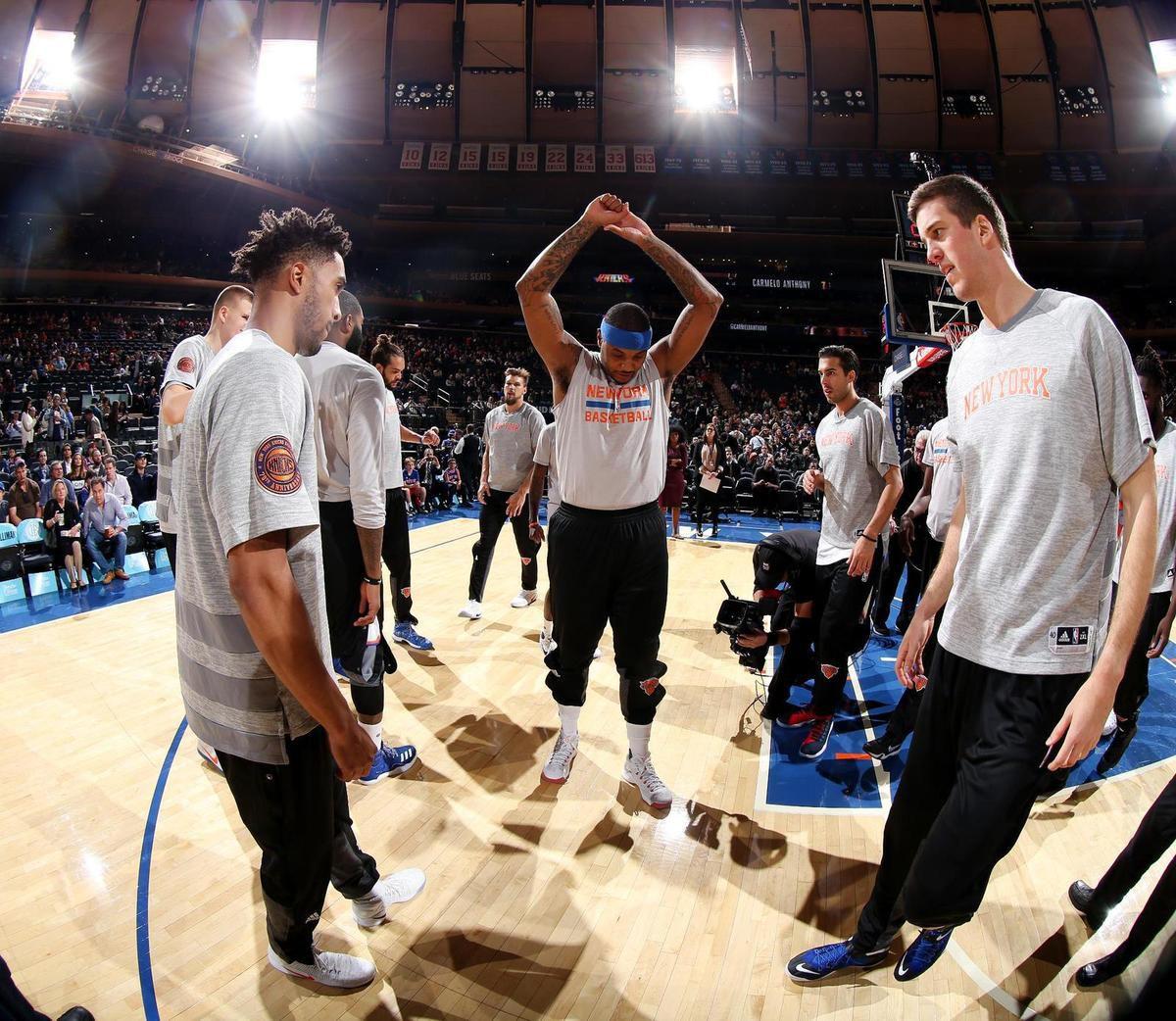 Les Knicks veulent accéder aux play-offs