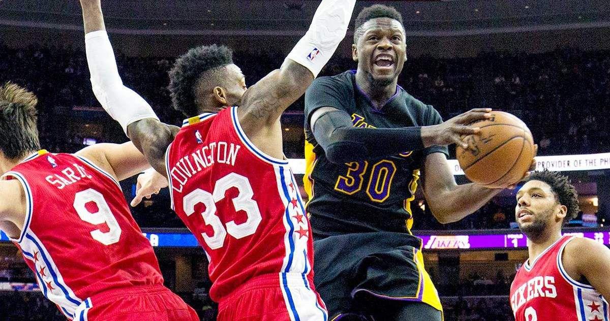 Les Lakers renouent à la victoire face aux Sixers
